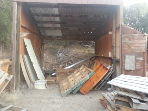 Carport to be Recycled