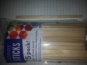 Labeling Sticks