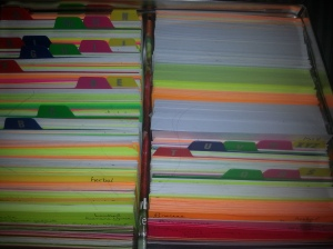 Index Cards!